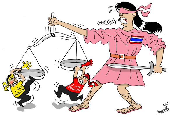 """Red V Yellow"" Politics Moves Beyond Thai Borders"