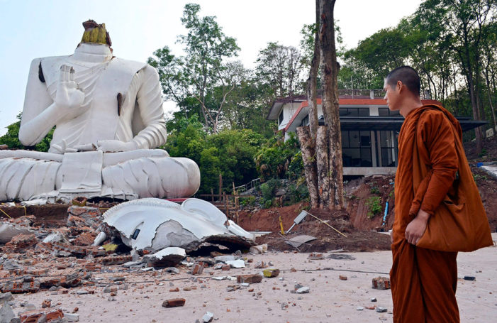 Officials Say Earthquake Aftershocks to Continue in Chiang Rai