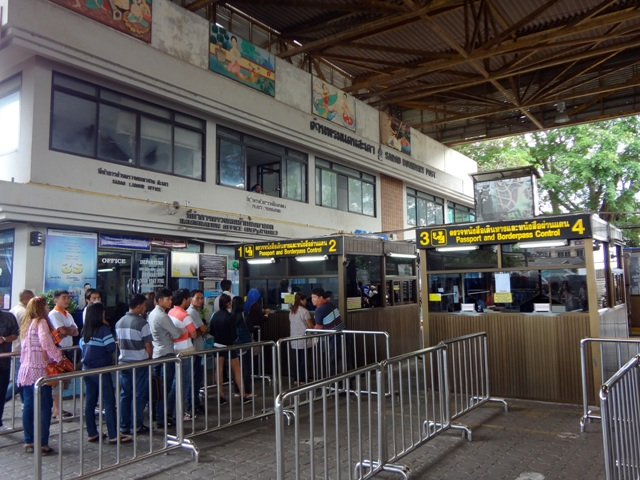 Crack Down, Sadao Checkpoint Turning Away Hundreds of Foreigners with Tourist Visa's