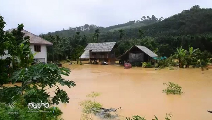 Warning of Flash Floods and Landslides for 18 Districts of Chiang Rai