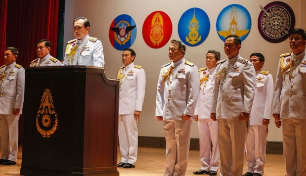 Thailand's Junta Reveals Interim Charter With Amnesty Granted to Themselves