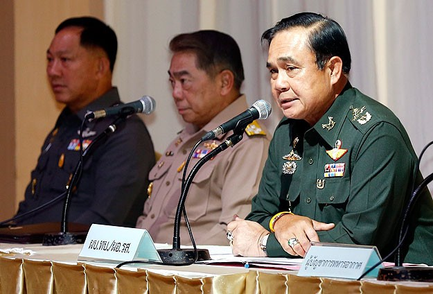 General Prayuth Chan-ocha took control of a deeply divided Thailand on May 22