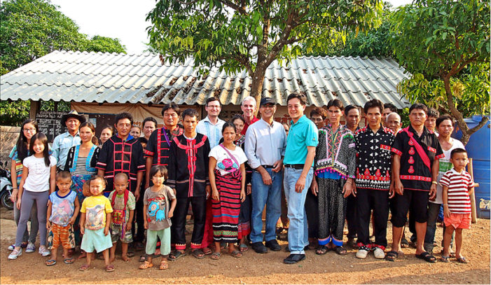 American Expat Zachary Gomes Initiative to Promote Organic Egg Farming among the Hill Tribes in Chiang Rai