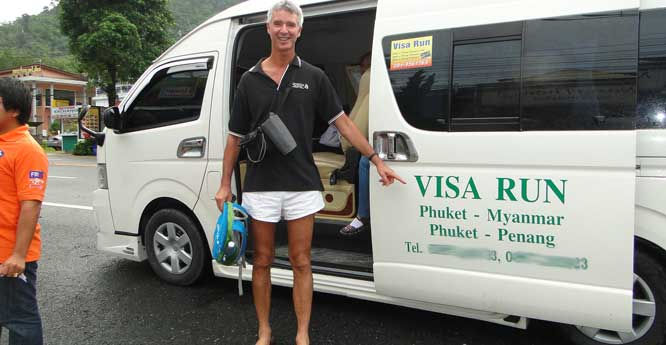 Travellers who enter Thailand on visa-free conditions can cross the border with neighbouring countries to repeatedly extend their visa-free stays.