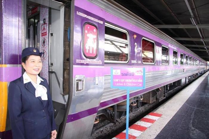Thailand to Re-Launches Women-Only Train Carriages