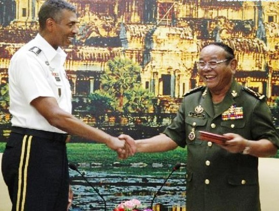 US General Says Training of Cambodia's Military will Continue