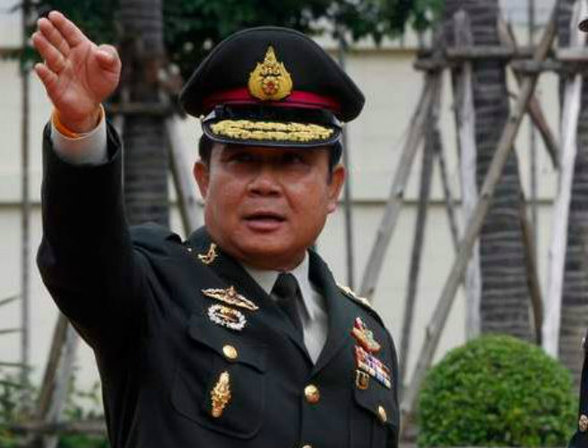 Army chief General Prayuth Chan-ocha, 60, who ousted an elected government in a bloodless takeover on May 22, was the only contender for the premiership.