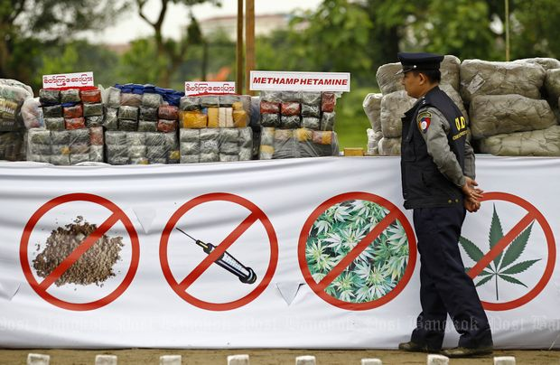 Myanmar Authorities Seize Heroin and Opium Worth Millions Buried in Golden Triangle