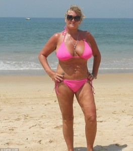 Karen Trant, 51, from Dartmouth, Devon, pictured, illegally claimed £134,000 over 13 years while living in Goa, India