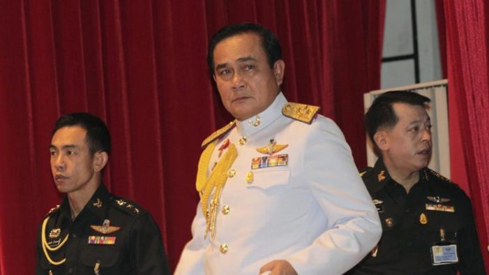 Premier General Prayuth Chan-ocha Stacks Cabinet with Military Officers