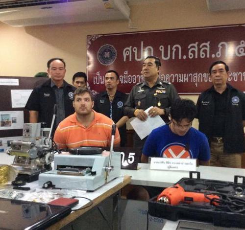 Swede and Filipino Arrested in Chiang Mai for ATM Fraud