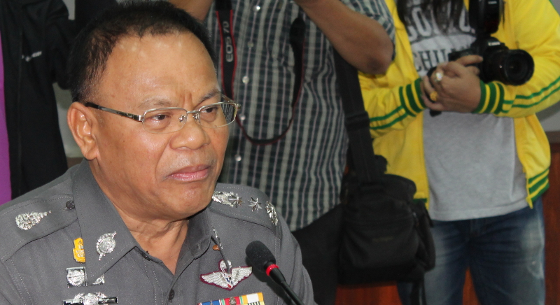 Eighth Region Police Command commissioner Pol Lt-Gen Panya Mamen identified the first suspect as Mon