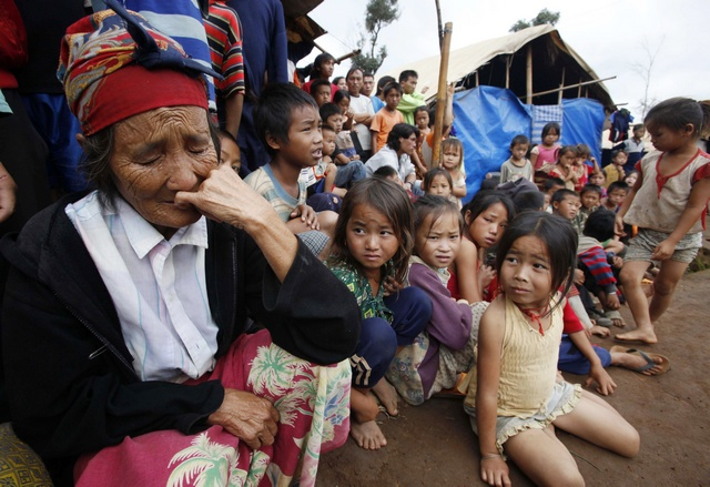 The largest group of child refugees living in Thailand are from Burma