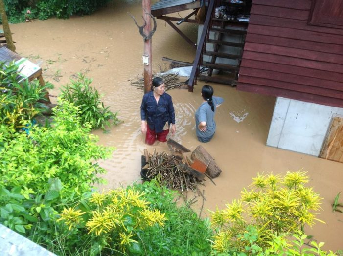 Chiang Rai Hit with Heavy Rains and Flooding