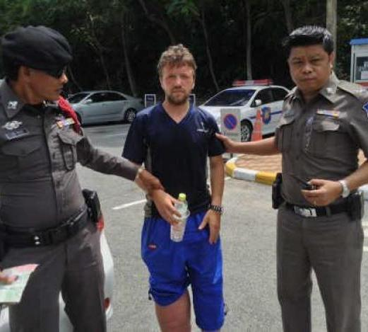 Begging German to Be Deported, Police Find him Partying in Pattaya on Donated Money