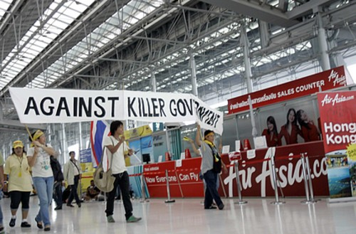 Forcing the closure of an airport, damaging airport facilities or aircraft at an airport plus any action that maims or kills someone in an airport would result in the death penalty or a life sentence, according to Article 19 of the proposed bill.