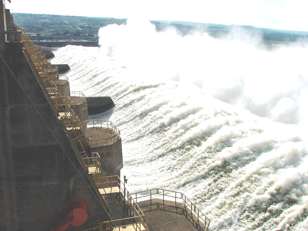 The Jinghong dam will need to release a huge volume of water downstream from Sept. 5-30 due to heavy rain upstream