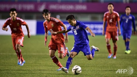 Thailand Beats China 2-0 in Men's Football at Asian Games