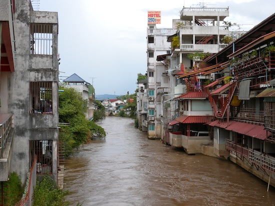 Flood Situation in Mae Sai Eases, Life Returning to Normal