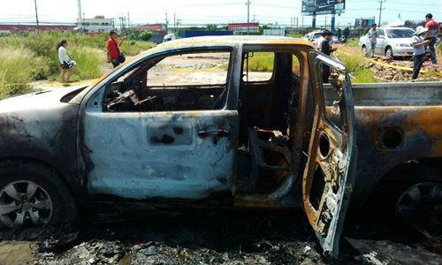 Father Stabs Wife and Daughter, 12 to Death then Lights them ablaze in his Truck