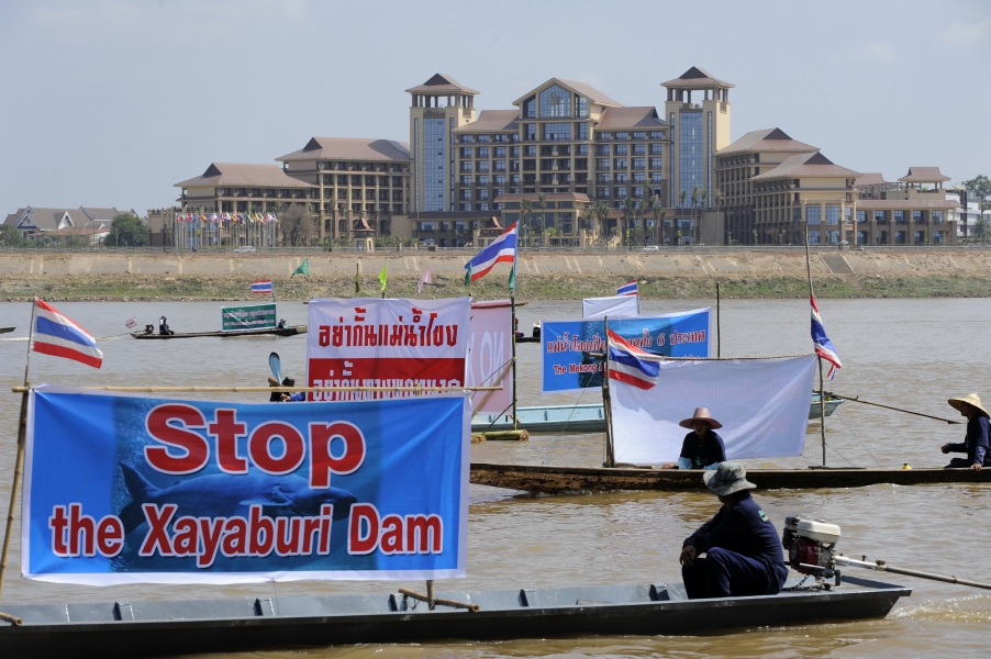 Lao government announced its decision to proceed with the Xayaburi Dam, drawing widespread international criticism.