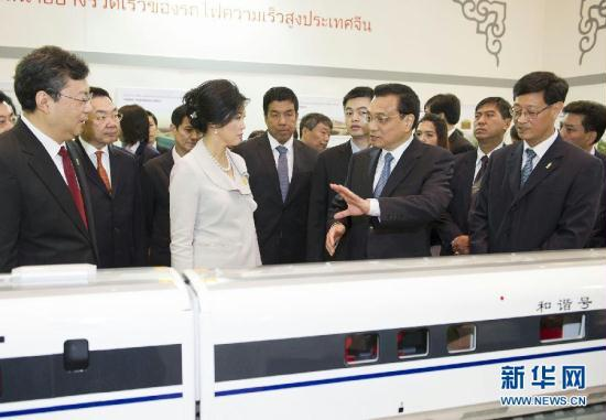 """The courts killed the last plan over questionable """"rice for rails"""" funding–the Yingluck government allegedly planned to swap surplus rice for Chinese trains."""