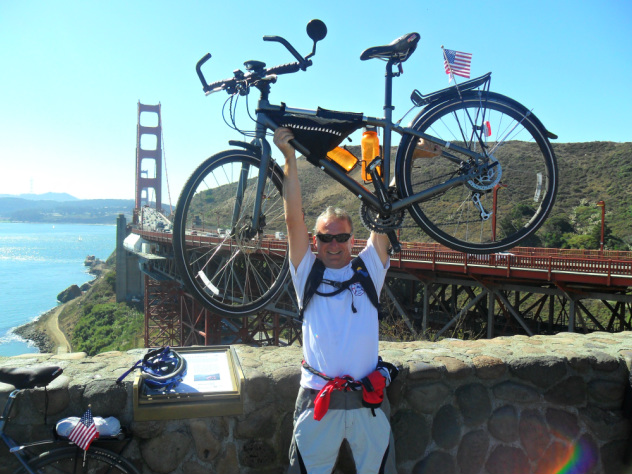 Canadian Firefighter Cycles the Globe for Cancer, Chiang Mai to Singapore Starting November 18 2014