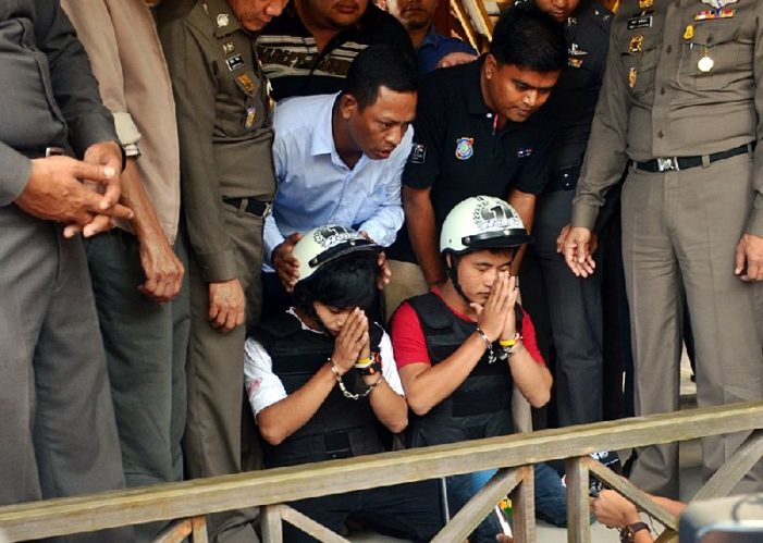 """Thai Police Deny Burmese Workers Arrested for Britons Murders are """"Scapegoats"""""""