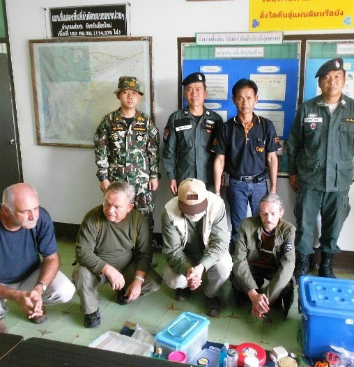 European Scientists Arrested in Chiang Mai for Collecting Insects