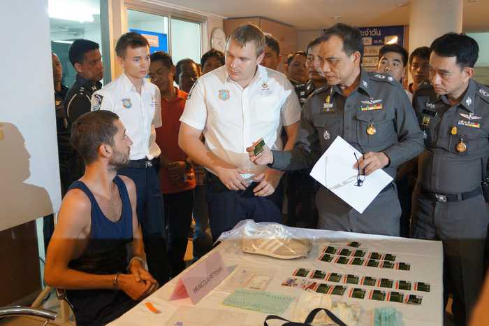 Nicolai Petrishin, 27, was arrested at Novotel Resort in Kamala in possession of equipment used for the scam