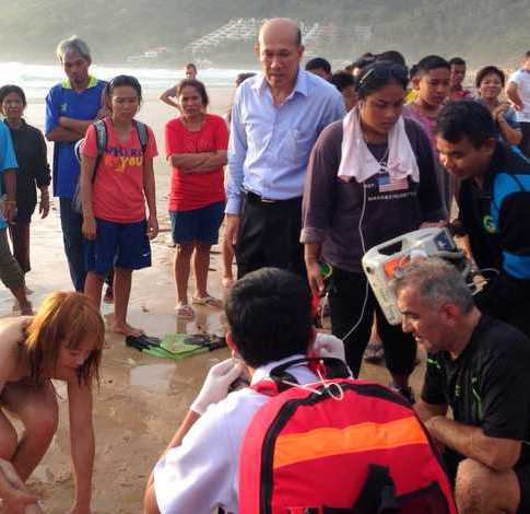 German Tourist Frank Retsch Drowns at Nai Harn Beach, Phuket