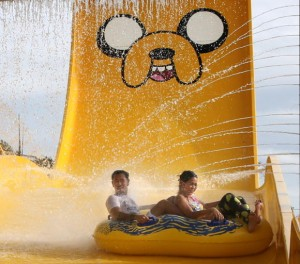 Cartoon Network Amazone is making a splash near Pattaya with Thailand's first water theme park.