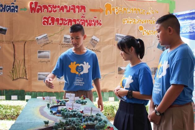 Samsung Smart Learning Centre Opens New Worlds for Chiang Rai Students