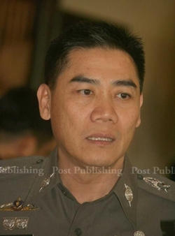 Assistant national police chief Pol Lt Gen Chakthip