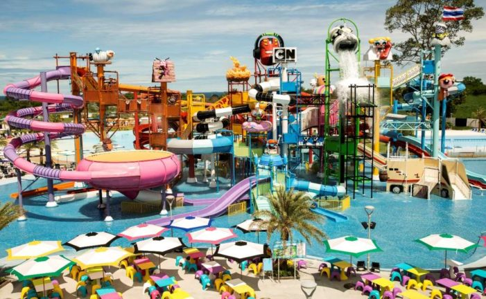 Thailand's First Water Theme Park Opens in Pattaya