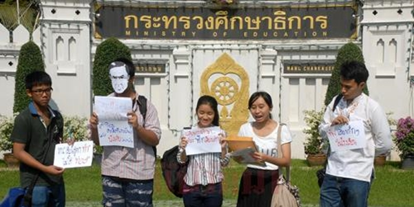 Thailand's High School Civic Activism in a Time of Martial Law