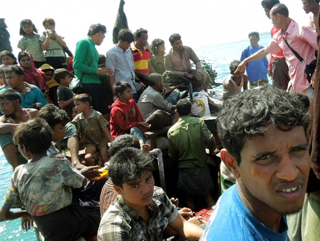 Thailand Authorities Arrest 53 Rohingya Migrants and 2 Human Traffickers North of Phuket
