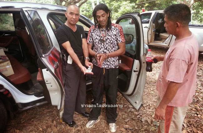 Thai police released some photographs of Paras—handcuffed, gaunt with a dark face and a long hair. He appears in black trousers, white shoes and black and white spotted t-shirt.