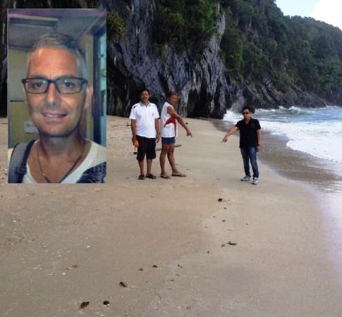 "The Body of Missing Swiss Tourist ""Hanspeter Suter"" Washes Ashore at Chumphon Beach Thailand Washes Ashore at Chumphon Beach Thailand"