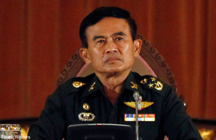 Thai Justice Minister Say's Martial Law to Stay in Thailand