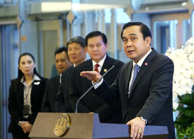 Prayut Tells APEC Leaders Thailand Will Have Elections after National Reforms