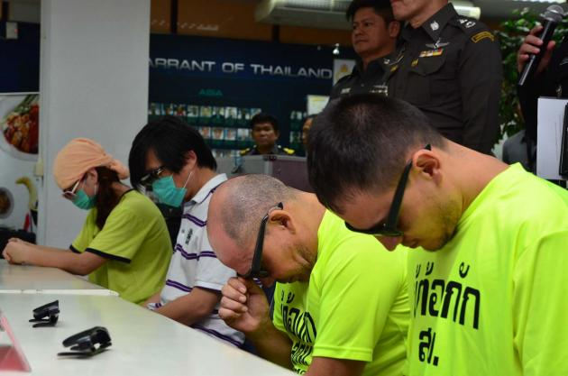 Immigration Police have also arrested Mr. Miguel Anthony Corcoba Rodriguez and Mr. Victor M. Cortez