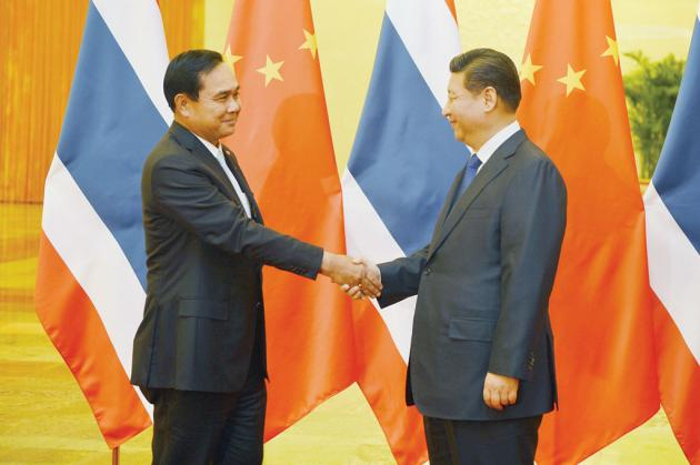 Prayut Discusses Chiang Rai's Route R3A Project and High Speed Rail Project at APEC Summit