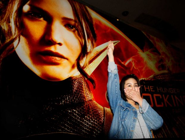 Thai Government Official Say's 'Hunger Games Salute' May Discredit Thailand