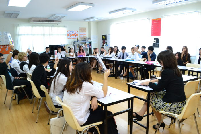Chiang Rai International School Participate in Model United Nations Conference in Chiang Mai