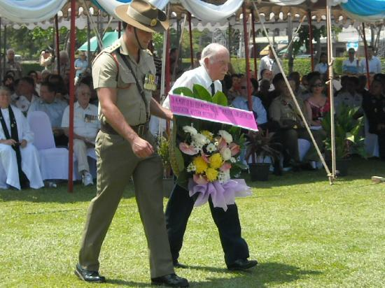 Remembrance for Allied Soldiers at the Don-Rak War Cemetery