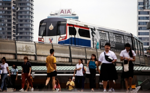 Thailand Ramps up Spending on Infrastructure in Bid to Revive GDP Growth