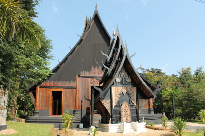 Inspired in Chiang Rai- Baan Dam, the Black House