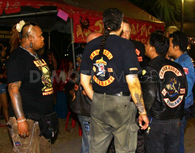 "Police say another gang, known as the ""Bandidos"", has been operating on Koh Samui in Surat Thani and Phuket"