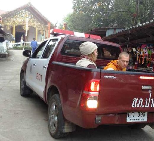 Russian's Dressed as Monks Break into Mae Hong Son Temple